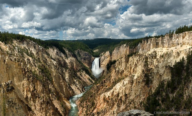 Lower Falls of the Yellowstone River, Yellowstone National