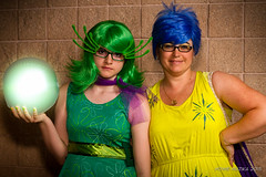 Tampa Bay Comic-Con 2015 Cosplay - INSIDE OUT - DISGUST & JOY