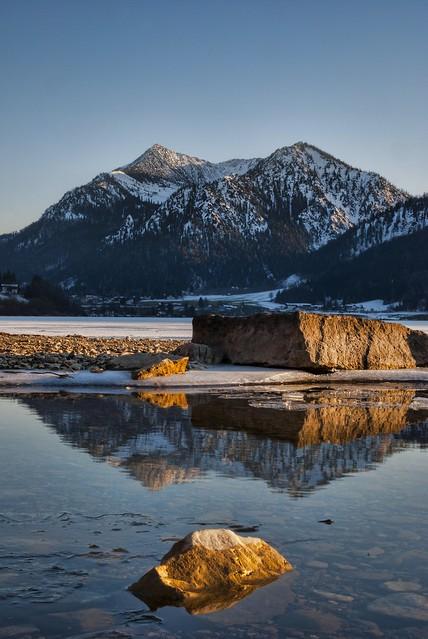 Winternachmittag am Schliersee