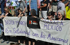 Oaxaca Mexico Women's March