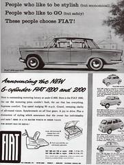 Fiat 1800 & 2100 (1959-60)