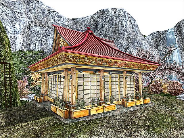 Taka no Sakura -Cliffside Teahouse