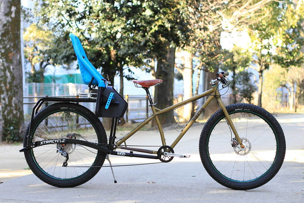 Koro's *SURLY* krampus + *XTRACYCLE* leap completebike