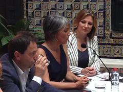 Conférence de presse à l'Institut Andalou du flamenco de Sevilla