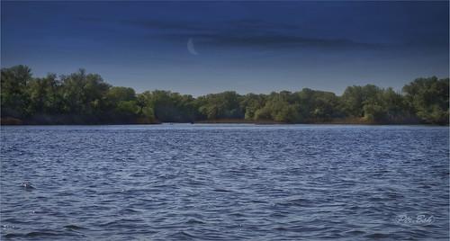 nature river landscape evening artphotography