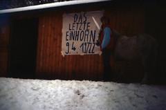 """Filmwerbe-Dia """"Das letzte Einhorn"""" (03)"""