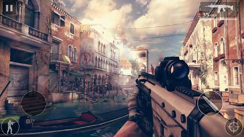 เล่นเกม Modern Combat 5: Blackout บน Wiko Highway Star 4G
