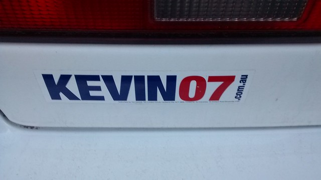 Kevin 07 Sticker