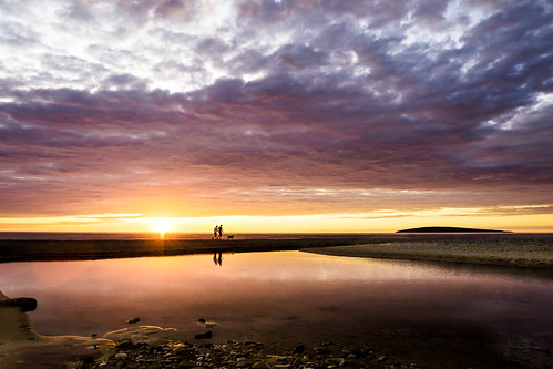 sunset summer sky dog canada beach clouds novascotia walk capebreton dunvegan 2015 cans2s macleodsbeach fujixe2