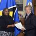 New Permanent Representative of Saint Lucia Presents Credentials