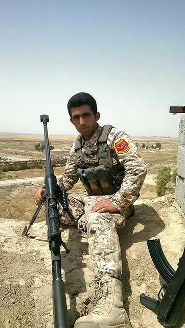 Kurdish Peshmerga fights against the Isis-Terrorists.instagram.com/saftibarzani/