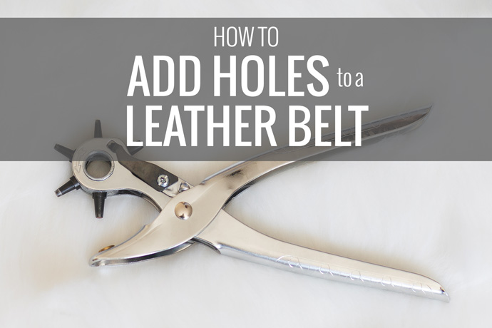 how-to-add-holes-to-leather-belt