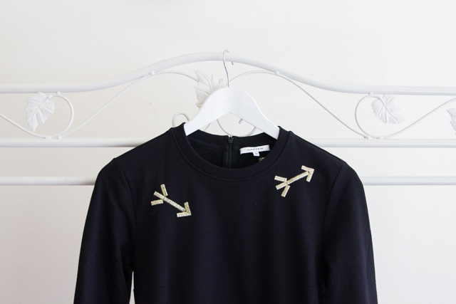 Embroidered Carven Arrow AW14 Dress from The Outnet