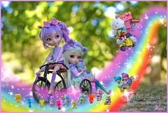 Magic bike ride~*