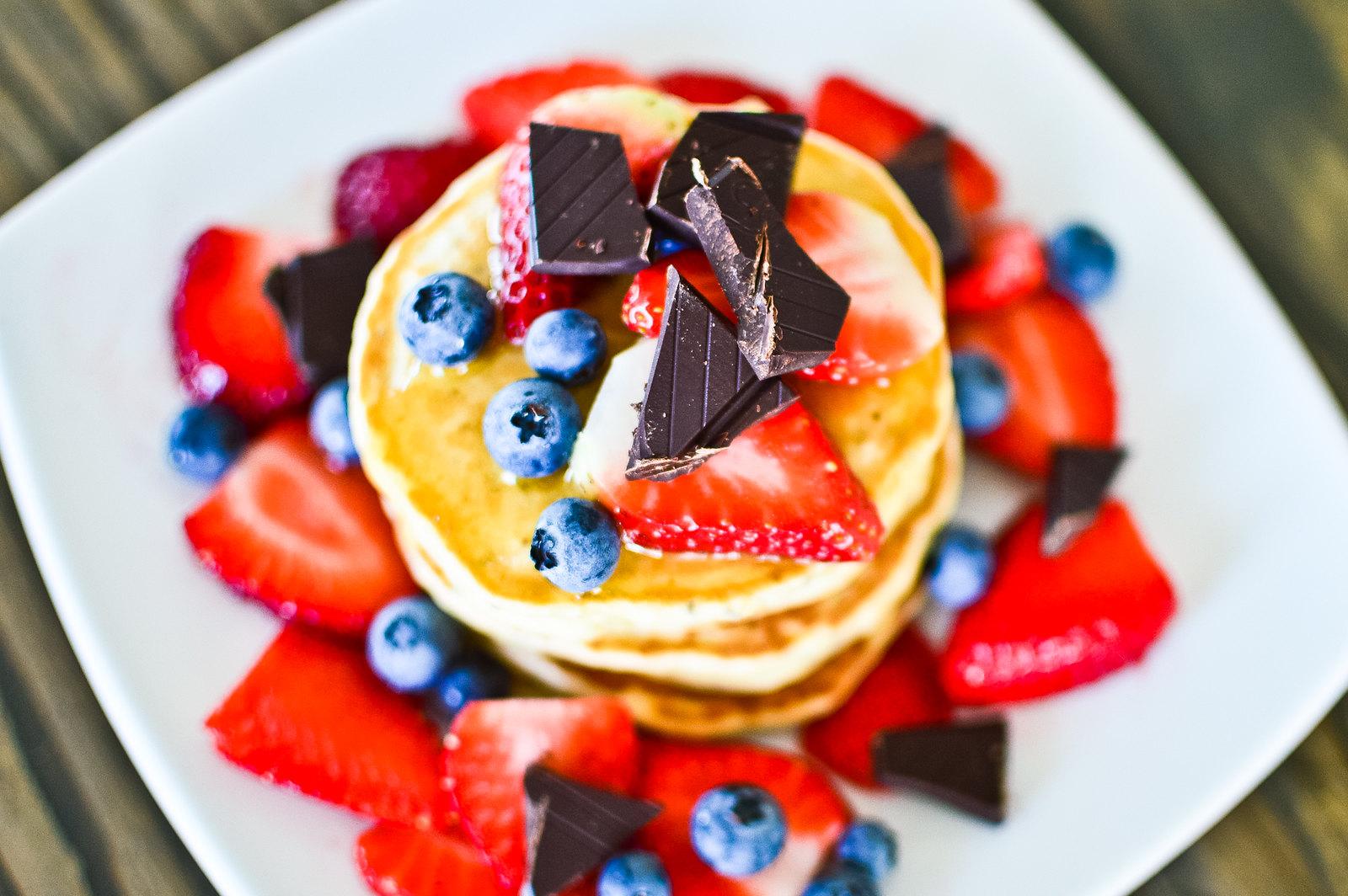 Olive Oil Vegan Pancakes