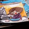 Nel blog ora, tutte le cartoline che ho disegnato a Firenze! (Link nel profilo) #sketch #sketchbook #postcard #illustration #watercolor