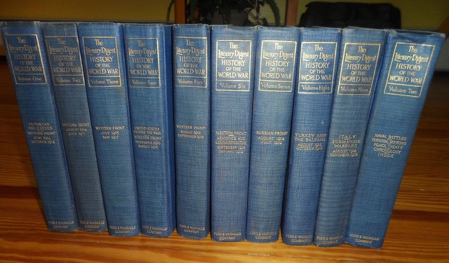 Funk & Wagnalls The Literary Digest History of the World War