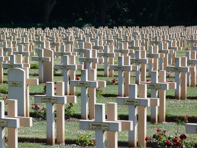 Cementerio de la I Guerra Mundial Notre Dame de Lorette (Norte de Francia)