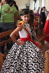 Niña Fundación de Chone 2013 en Santa Rita