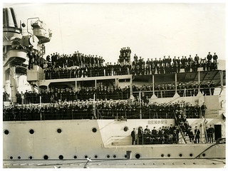 HMS Renown in Lyttelton, Royal Tour 1920