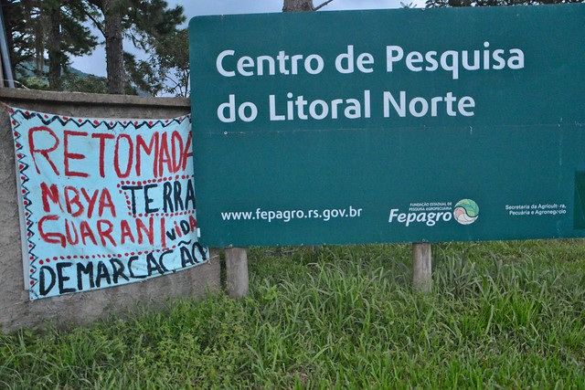 Retomada Guarani Mbya em Maquiné