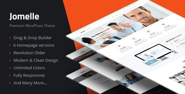 Jomelle v2.3.0 - Multipurpose Business WordPress Theme