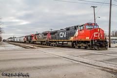 CN 2605 | GE C44-9W | CN Shelby Subdivision