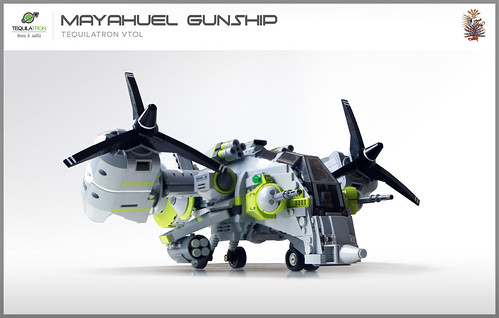 Mayahuel Gunship - DA2 - Landed