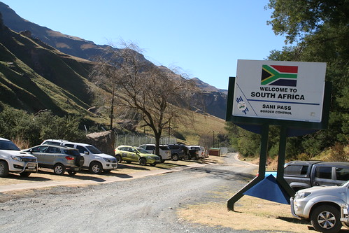 South Africa Border Control, Sani Pass