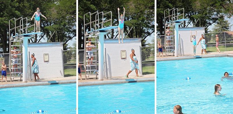 Quinter Kansas Pool High Dive