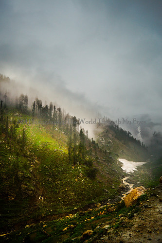 trees pakistan mountains green nature clouds sunrise dark landscape top vivid chitral kpk lowari