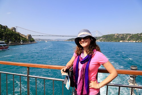 Lina on the Bosphorus