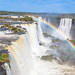 Rainbow jumping the falls