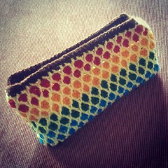 Morrocan #crochet purse #crochetpurse for my mom♥.
