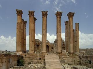 Artemis Temple Jarash 近く の画像. geotagged jordan jor jordania gerasa jarash geo:lat=3228176987 geo:lon=3589118868