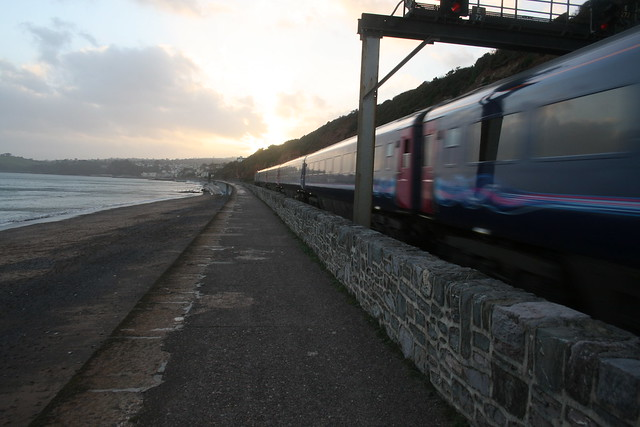 Intercity 125 passing Dawlish