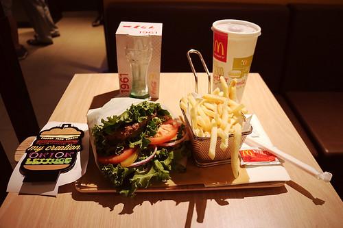 餐到了。 #mcdonalds #createyourtaste