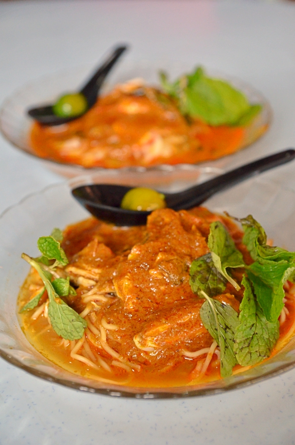 Nam Chau Dry Curry Noodles