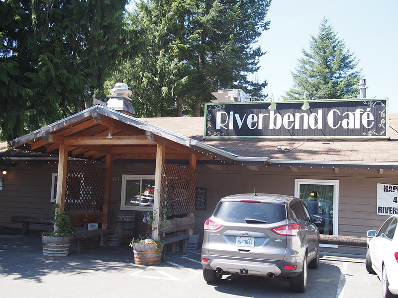 Riverbend Cafe: Lunch