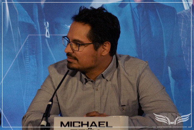 The Establishing Shot: MICHAEL PEÑA - ANT-MAN EUROPEAN PRESS CONFERENCE - CORINTHIA HOTEL LONDON