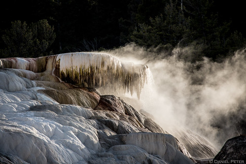 Mammoth Hot Springs N°3
