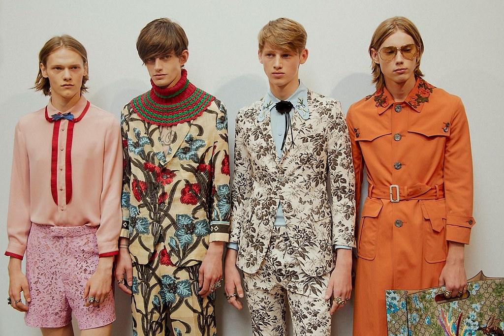 Ryan Keating3090_SS16 Milan Gucci_Gabriel Hengeveld, Ole Stirnberg, Anton Toftgard(dazeddigital.com)