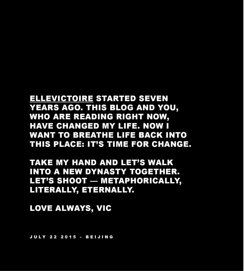 ELLEVICTOIRE Campaign Statement