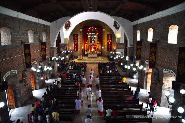 Inside Virgen La Divina Pastora Church Gapan