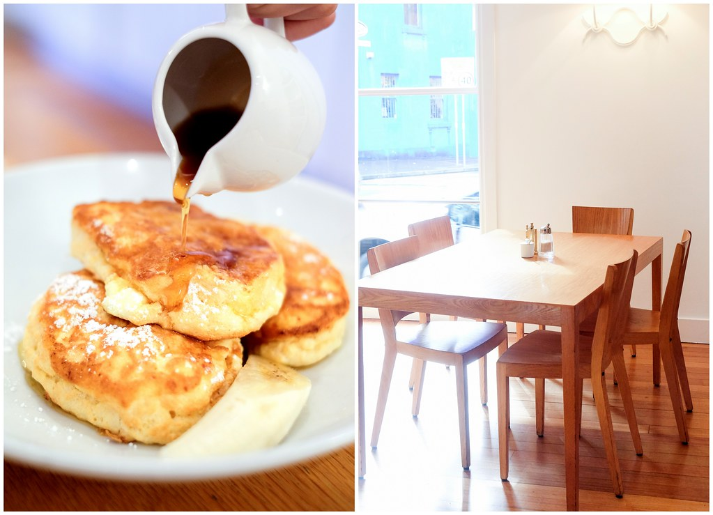 Darlinghurst Cafes: Bill's fluffy hotcakes with honeycomb butter