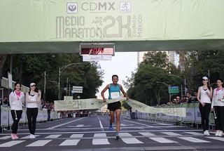 Medio Maratón de la Ciudad de México 2015