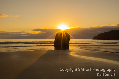 macro beach water sunrise landscape scotland nikon rocks durness d7200