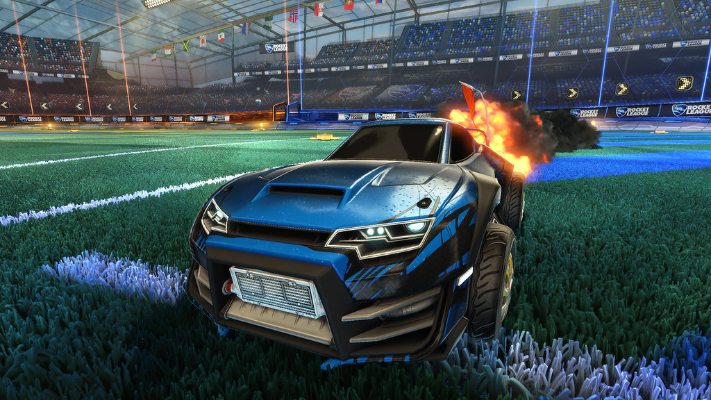 Rocket league supersonic fury dlc pack coming this for Garage auto legue langueux