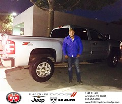 Congratulations to Fernando  Vera  on your #Chevrolet #Silverado 2500Hd from Jessica Limones at Holt Chrysler Jeep Dodge! #NewCar
