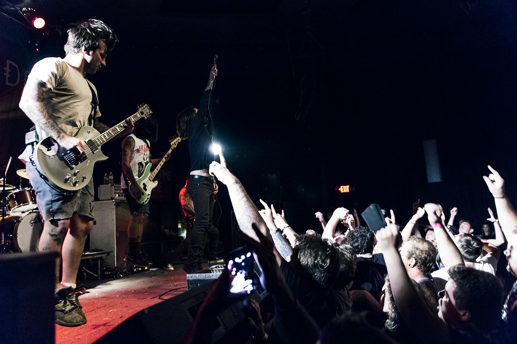 Every Time I Die at The Bourbon   8-8-15